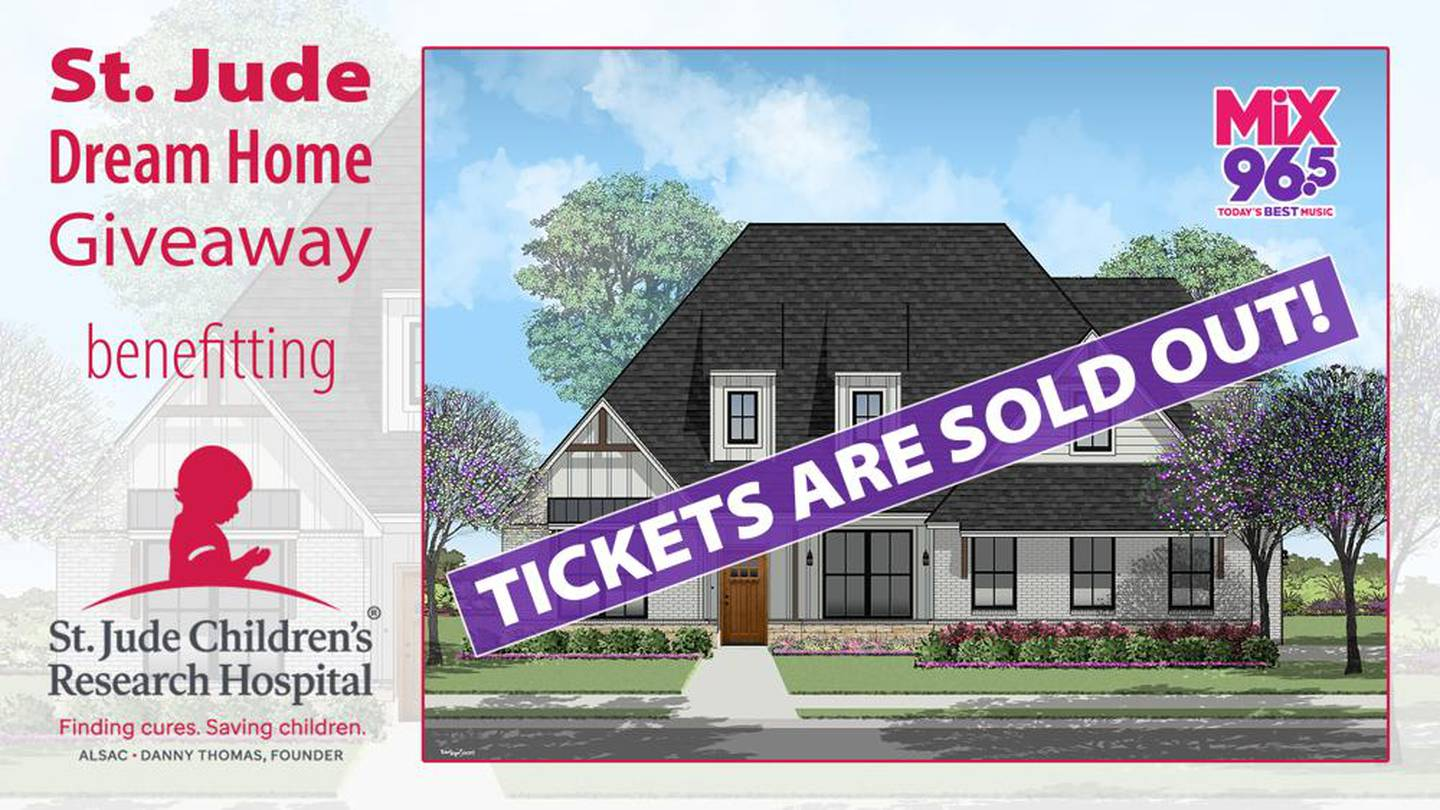 Mix 96.5 St. Jude Dream Home Giveaway