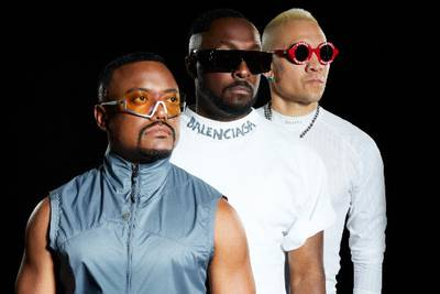 Black Eyed Peas doing livestream from the pyramids of Giza, Egypt next month