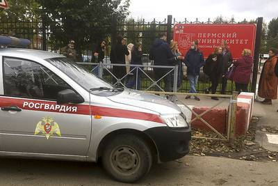 Russia university shooting: 6 dead, 28 hurt after gunfire erupts on Perm campus