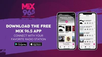 Download the FREE Mix 96.5 Tulsa App!