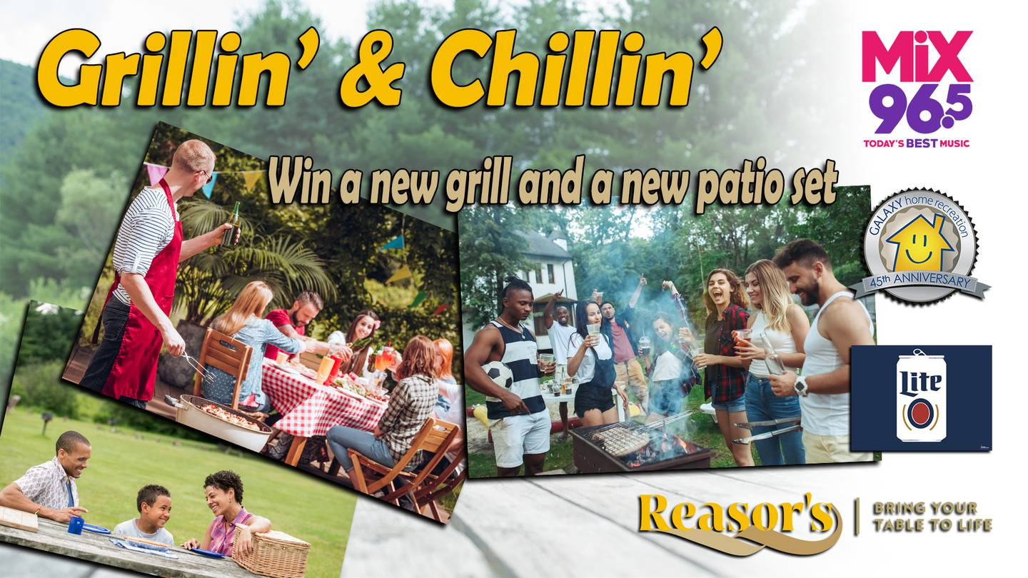 Grillin' and Chillin' with Miller Lite and Mix 96.5!
