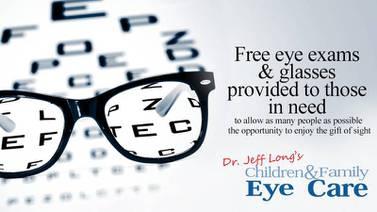 Dr. Jeff Long's Children & Family Eye Care SPECS Program